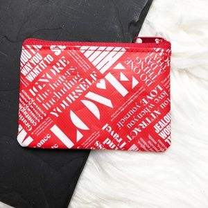 {Lululemon} Zip top Card Coin Pouch